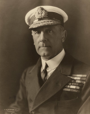 Admiral Sir John Jellicoe (1859-1936) by unknown - print