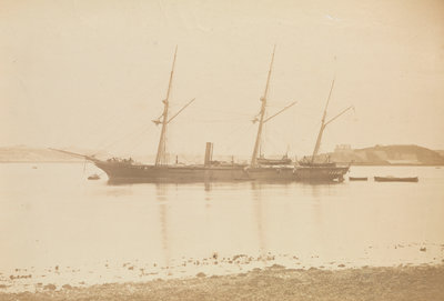 HMS xyz (1866) by unknown - print