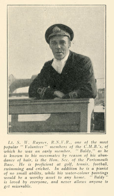 Lt. S.W. Rayner by unknown - print