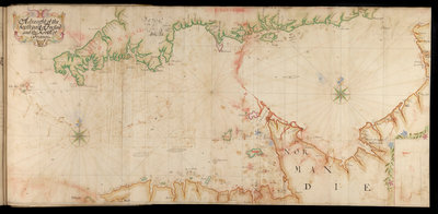 The Legge Report, 'Channel Islands Survey: A draft of the southern part of England and northern France' by Thomas Phillips - print
