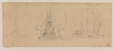 The Temeraire being towed to Deptford to be broken up Fine Art Print by Edward Duncan