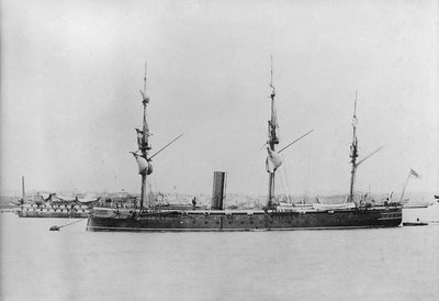 Photograph of HMS Thetis by unknown - print
