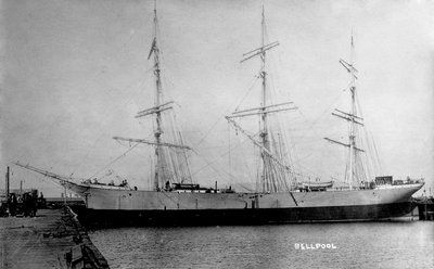 'Bellpool' (No, 1904) at quayside by unknown - print
