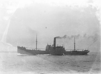 Ossian' (Br, 1919), under way by unknown - print
