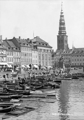 Copenhagen, Denmark by Marine Photo Service - print
