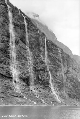 Seven Sisters Waterfall, Geirangerfjord, Norway by Marine Photo Service - print