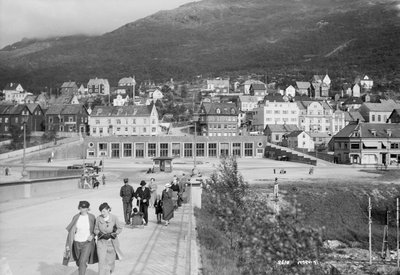 View of Narvik, Norway by unknown - print