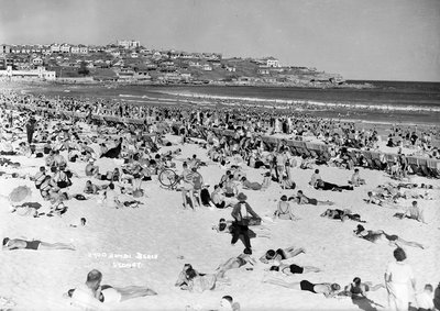 Bondi Beach, Sydney, Australia by Marine Photo Service - print