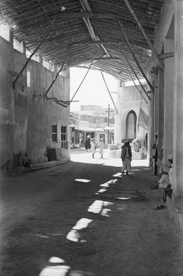 Covered suq, Kuwait by Alan Villiers - print