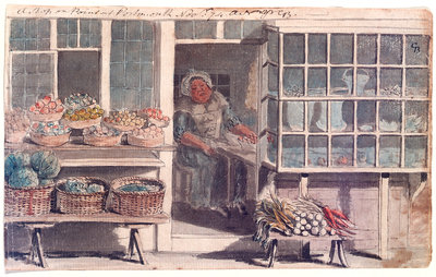 A shop on the Point at Portsmouth by Gabriel Bray - print
