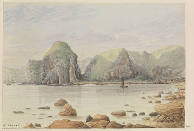 'At Kelung, Formosa' [Taiwan] by James Henry Butt - print