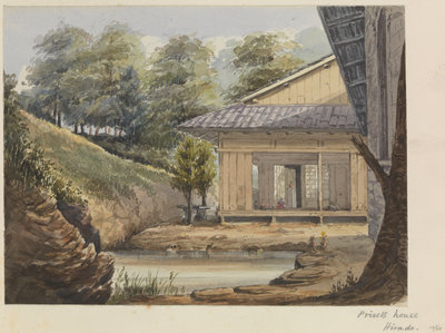 'Priest's house, Hirado' [Japan] by James Henry Butt - print