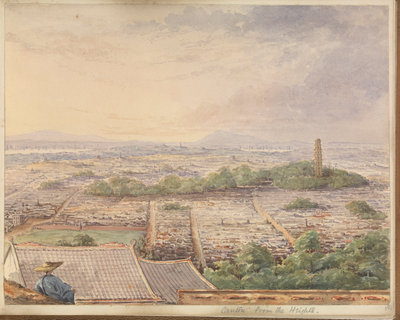 'Canton from the Heights' [Guangzhou, China] by James Henry Butt - print