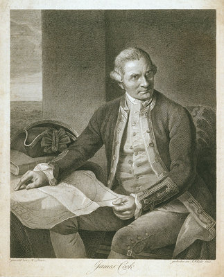 James Cook by Nathaniel Dance - print