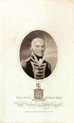 George Murray Esqr Rear Admiral of the White Squadron by Henry R. Cook - print