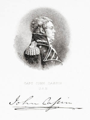Captain John Cassin, United States Navy by G. R. - print