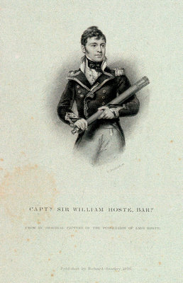 Captain Sir William Hoste, Bart by William Greatbach - print