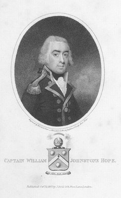Captain William Johnstone Hope by Henry R. Cook - print