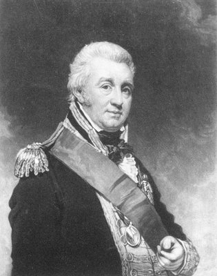 Admiral Alexander Inglis Cochrane by William Beechey - print