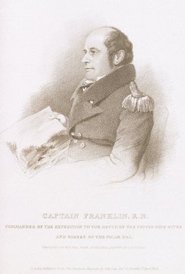 Captain John Franklin by Thomas Charles Wageman - print