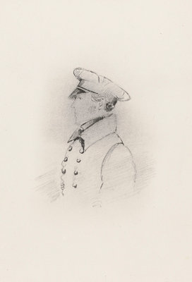 Lieutenant William Rivers (1788-1856) by unknown - print