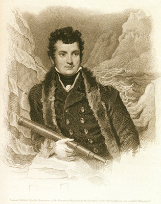 Captain W.E. Parry R.N. by Samuel Drummond - print