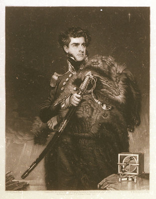 Sir James Clark Ross (1800-1862) by John R. Wildman - print