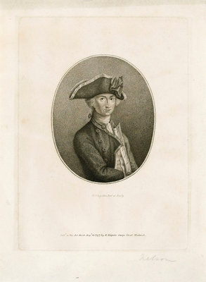 Horatio Nelson by John Francis Rigaud - print