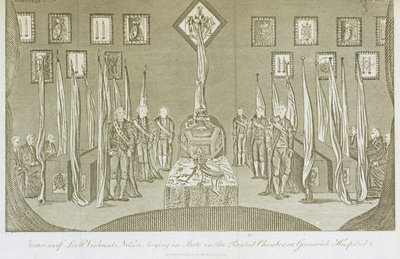Remains of Lord Viscount Nelson by James Cundee - print