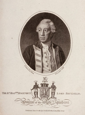 'The Rt. Honble. Molyneux Lord Shuldham Admiral of the White Squadron' by Nathaniel Dance - print