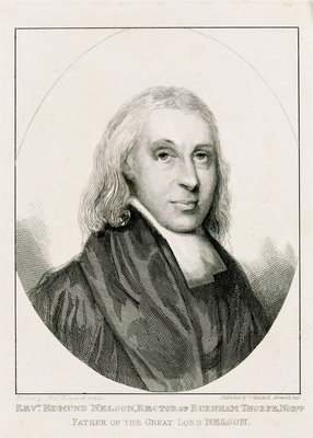 Reverend Edmund Nelson (1722-1802) Fine Art Print by W.C. Edwards