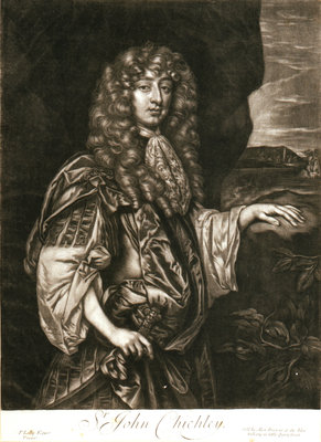 Sir John Chichley by Peter Lely - print