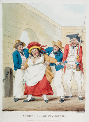 Sweet Poll of Plymouth by Henry William Bunbury - print