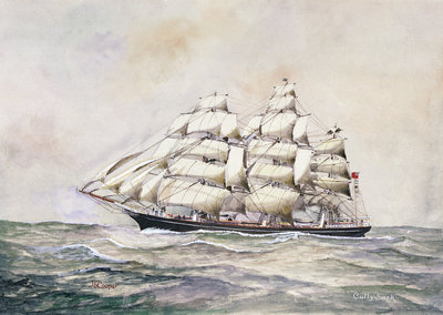 'Cutty Sark' (1869) by J. E. Cooper - print