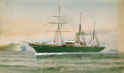 SS 'Damascus' by C. Kensington - print