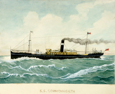 S.S. 'Commonwealth' by Blanchard - print