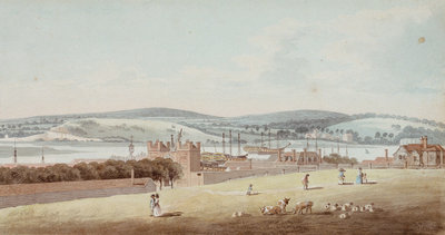 View of Chatham by George Bulteel Fisher - print