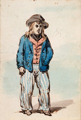 A young seaman by James Gillray - print