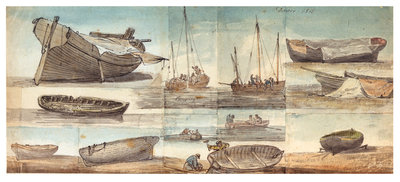 Dover 1815. Pumping by William Payne - print