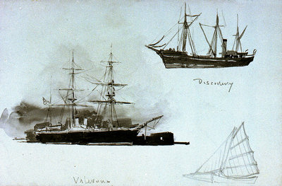 Discovery', 'Valorous by William Lionel Wyllie - print