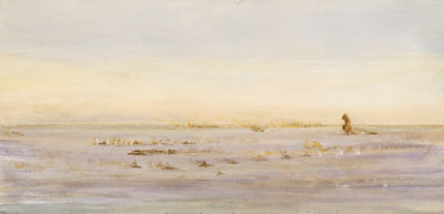 Jutland? by William Lionel Wyllie - print