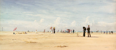 Berck Plage by William Lionel Wyllie - print