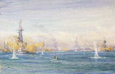 Dardanelles by William Lionel Wyllie - print