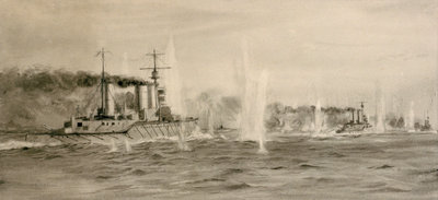 Jutland by William Lionel Wyllie - print