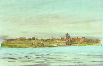 Bucklers Hard by William Lionel Wyllie - print