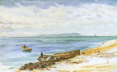 Portland Bill from the North-East by William Lionel Wyllie - print