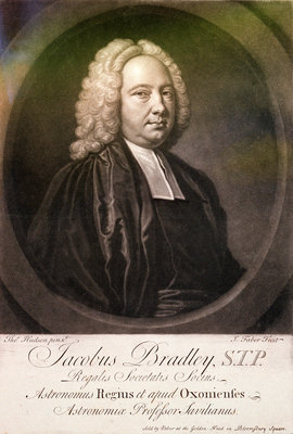James Bradley, Astronomer Royal (circa 1692-1762) by Thomas Hudson - print