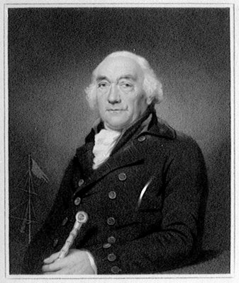 William Locker, 1731-1800, Lieutenant-Governor of Greenwich Hospital, 1793-1800 by Lemuel Francis Abbott - print