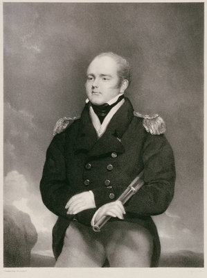 Sir Robert Cavendish Spencer (1791-1830) by Thomas Phillips - print