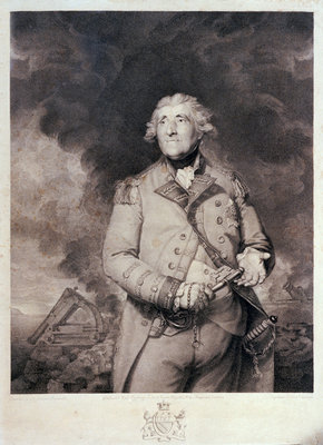 Lord Heathfield by Joshua Reynolds - print